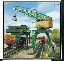Kibri Coaling Tower & Traveling Crane Kit Z Scale Model Railroad Accessory #36738