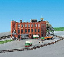 Kibri Factory Building Kit Z Scale Model Railroad Building #36762