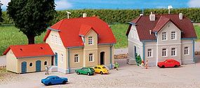 Kibri Ruhr Road Settlement Houses (2) Kits Z Scale Model Railroad Building #36827