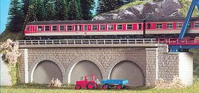 Kibri Center Stone Arched Arcades Kit N Scale Model Railroad Miscellaneous Scenery #37670