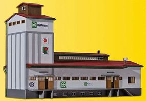 Kibri Warehouse HO Scale Model Railroad Building Kit #39208