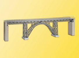 Kibri Cathedral Valley Steel Girder Viaduct Bridge (Single Track) HO Scale Model Railroad #39704