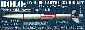 Launch-Pad Bolo Level 2 Model Rocket Kit #13
