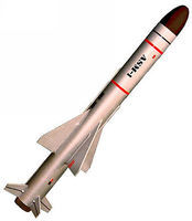 Launch-Pad ASM-1 Type-80 Skill Level 3 Model Rocket Kit #2