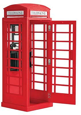 Latina Ship Models 1/10 London Telephone Box