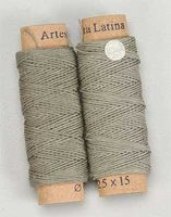 Latina Cotton Thread .25mm Green Beige 30 Meter (One Roll) Wooden Boat Model Accessory #8802