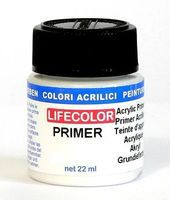 Lifecolor Acrylic Primer (22ml Bottle) (Old #110)