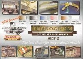 Lifecolor Tensocrom Weathering #2 Acrylic Paint (6 22ml Bottles) Hobby and Model Acrylic Paint Set #tsc2
