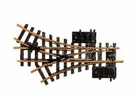 LGB R1 30 Degree Electric Three-Way Turnout 4 3 Diameter G Scale Brass Model Train Track #12360