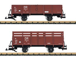 LGB DR Gondola Car Set - G-Scale