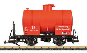 LGB Fire Fighting Tank Car DR - G-Scale