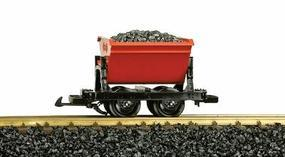 LGB Dump Car w/Load Red - G-Scale