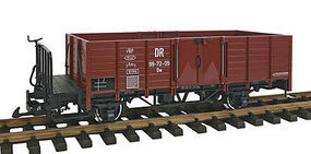 LGB High-Side Gondola DR G Scale Model Train Freight Car #43121
