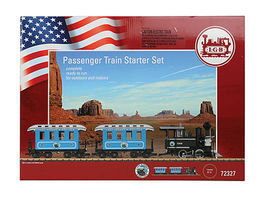 LGB American Pass Start Set - G-Scale