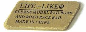 Life-Like Track Brite Cleaner Model Train Track Accessory All Scales #1416