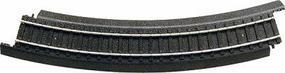 Life-Like Power-Loc(TM) 22 Radius Curved (4) Model Train Track Steel HO Scale #21318