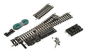 Life-Like Left Hand Remote Controlled Turnout Code 100 Nickel Silver Model Train Track HO Scale #3003