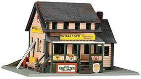Life-Like Williams Country Store Kit Model Railroad Building N Scale #7463
