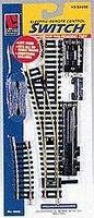 Life-Like Code 100 Remote Control Steel Turnout Right Hand Model Train Track HO Scale #8610