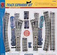 Life-Like Steel Track Expander Set Double Oval -- Model Train Track -- HO Scale -- #8617