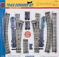 Life-Like Steel Track Expander Set Double Oval Model Train Track HO Scale #8617