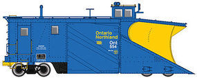 Life-Like-Proto Russell Snowplow Ontario Northland #554 HO Scale Model Train Freight Car #110022