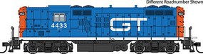 Life-Like-Proto EMD GP9 - LokSound Select DCC & Sound Grand Trunk Western #4441 (blue, red, white)