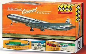 Lindberg British DeHavilland Comet Plastic Model Airplane Kit 1/144 Scale #512