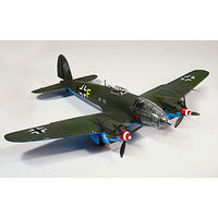 Lindberg Heinkel HE111 Military Aircraft Plane Plastic Model Airplane Kit 1/72 Scale #70510