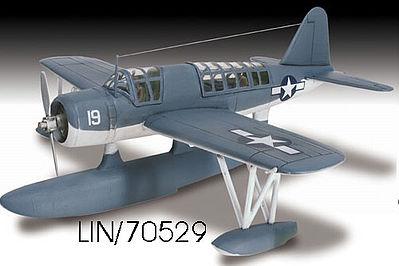 Lindberg Kingfisher Military Aircraft Plane Plastic Model