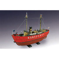 Lindberg Nantucket Light Boat Plastic Model Sailing Ship Kit 1/95 Scale #70860