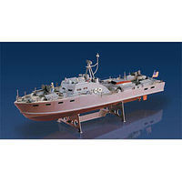 Lindberg Air Force Military Rescue Boat Plastic Model Ship Kit 1/72 Scale #70888