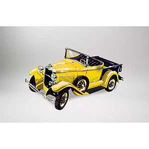 Lindberg 1930 Ford Model A Pickup (Re-Issue) -- Plastic Model Truck -- 1/32 Scale -- #72134