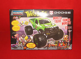 Lindberg WADE-A-MINUTE WEIRD-OHS MONSTER TRUCK Plastic Model Truck Kit 1/24 Scale #73016