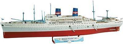 Presidents Liner Cruiseship Plastic Model Commercial Ship Kit - Cruise ship model kits