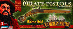 Lindberg Flintlock Pistol Gun Pirate Plastic Model Kit #78001