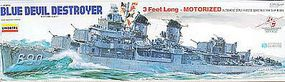 Lindberg Blue Devil Destroyer without Motor Plastic Model Military Ship Kit 1/125 Scale #hl212-03