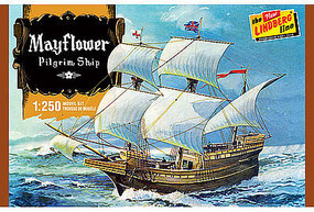 Lindberg Mayflower Plastic Model Sailing Ship Kit 1/250 Scale #hl215-12