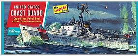 Lindberg U.S. Coast Guard Patrol Boat Plastic Model Military Ship Kit 1/82 Scale #hl216-12