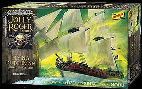 Lindberg Jolly Roger Series Flying Dutchman Plastic Model Sailing Ship Kit 1/130 Scale #hl218-12