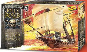 Lindberg Jolly Roger Series Captain Morgan Plastic Model Sailing Ship Kit 1/130 Scale #hl219-12