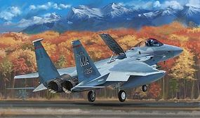 Lion-Roar 1/48 F15C MSIP II (Multi-Stage Improvement Program) US Air National Guard Aircraft (Plastic Kit)
