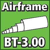 LOC Precision Airframe Tubing 3.00 inch -- Model Rocket Body Tube -- #bt300