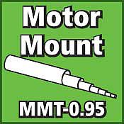 LOC Precision Motor Mount Tube 0.95 inch -- Model Rocket Body Tube -- #mmt095