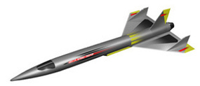 LOC Star Fighter 152 Level 4 Model Rocket Kit #pk7