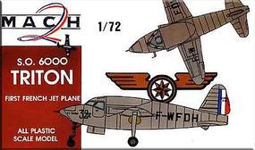 Mach2 SO6000 Triton 1st French Jet Aircraft Plastic Model Airplane Kit 1/72 Scale #5