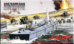 Mach2 LCVP Landing Craft Plastic Model Military Ship Kit 1/72 Scale #ar1