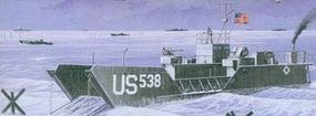Mach2 WWII USN LCT6 Landing Craft Plastic Model Military Ship Kit 1/72 Scale #ar5