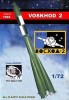 Mach2 Voskhod 2 Soviet Manned Rocket Space Program Plastic Model Kit 1/72 Scale #lo17