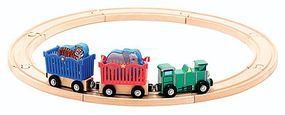 MandD Zoo Animal Train Set